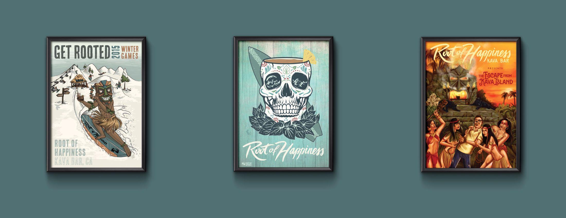 davis poster design illustrator hand